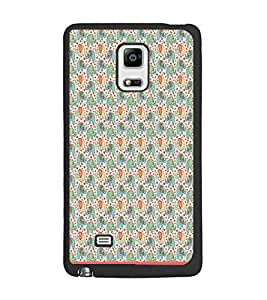 PrintDhaba Elephant pattern D-1599 Back Case Cover for SAMSUNG GALAXY NOTE 4 EDGE (Multi-Coloured)