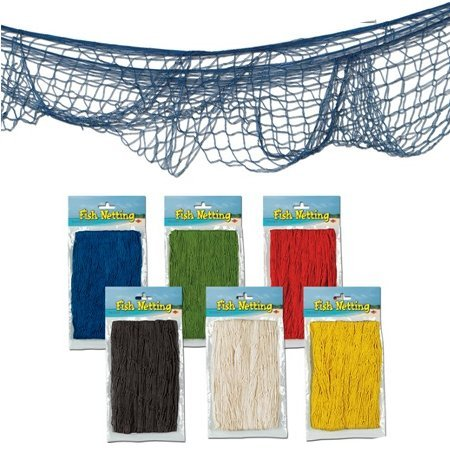 Decorative Fish Net colors may vary