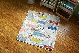 LovTree Kids Canvas Cushion Antiskid Door Mat Carpet Rugs