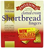Paterson's Clotted Cream Shortbread Fingers 300 g (Pack of 15)