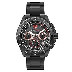 Swiss Eagle SE-9084B-IPB-0I-SM Analog Watch For Men