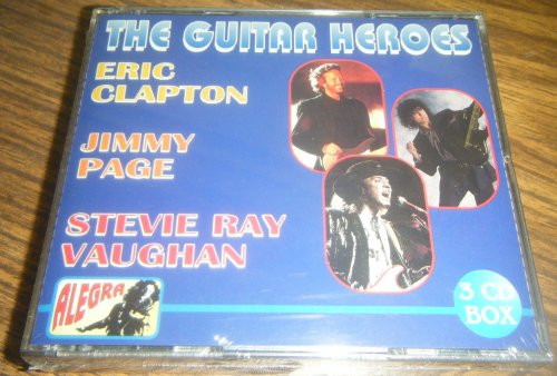 The Guitar Heroes - Eric Clapton, Jimmy Page, Stevie Ray Vaughan (3 CD) by JIMMY PAGE, STEVIE RAY VAUGHAN ERIC CLAPTON