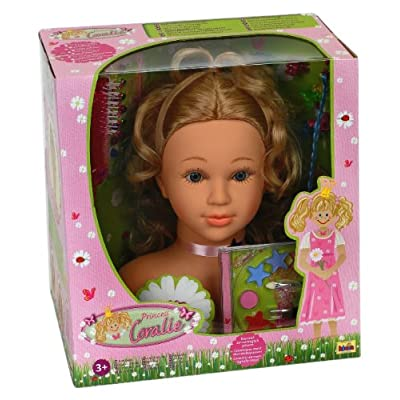 Klein 5770 - Princess Coralie Make-up/Hairstyling Head with 27 pieces
