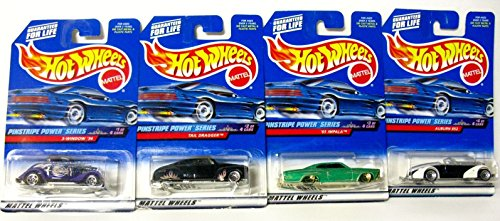 Hot Wheels 1999 Pinstripe Power Series Complete Set of 4 - 1