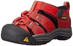 KEEN Newport H2 Sandal (Toddler/Little Kid/Big Kid), Ribbon Red/Gargoyle, 7 M US Toddler