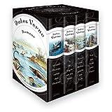 Jules Verne - Romane (Vier Bände im Schuber) - 20.000 Meilen unter den Meeren - In 80 Tagen um die Welt - Reise...