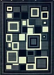 Modern Area Rug Design Gallery 26 Grey 5 Feet X 7 Feet