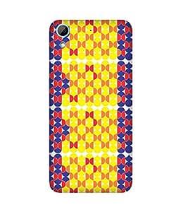 Stripes And Elephant Print-76 HTC Desire 826 Case