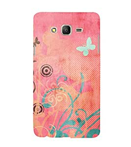 iFasho Animated Pattern colrful traditional design cloth pattern Back Case Cover for Samsung Galaxy On5 Pro
