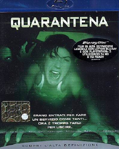 Quarantena [Blu-ray] [IT Import]