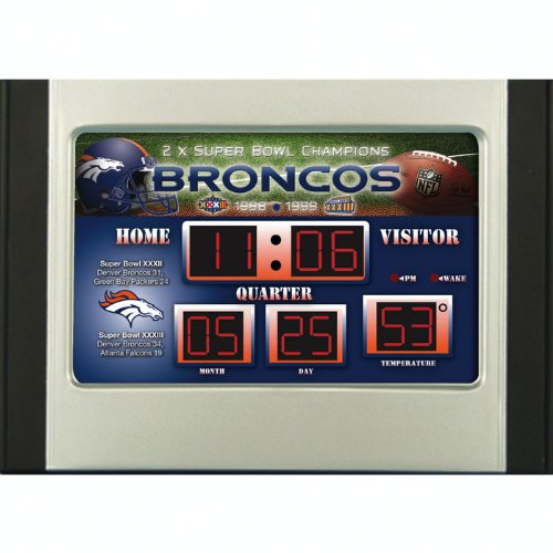 Football Scoreboard Desk Clocks