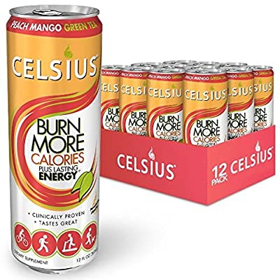 Celsius Calorie Reducing Drink, 12 Ounce Cans