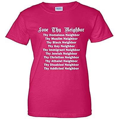 Love Thy Neighbor Equals Women's T-Shirt