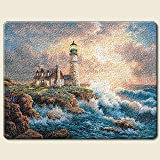 LIGHTHOUSE glass CUTTING BOARD Kitchen HOME Decor NEW