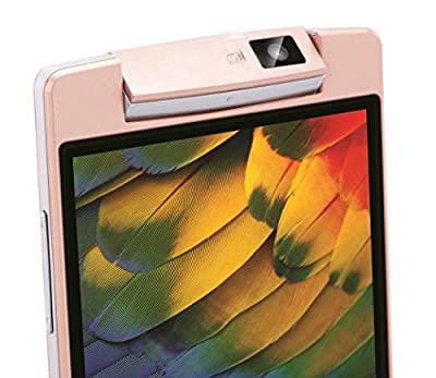 "Microkey E9 4"" Touch Screen 1.3 GHZ Quad Core 180 degree rotating camera mart Phone-Pink Colour"