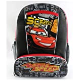 Disney Cars Lightning Speed 16 Children's School Backpack