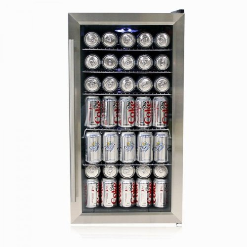 Purchase Whynter BR-125SD Beverage Refrigerator, Stainless Steel