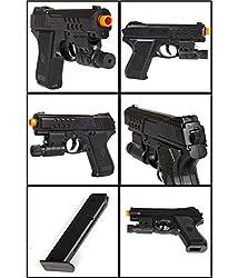 Zest 4 Toyz Generic Air Sports Laser Gun Red Laser With Blue Light Pistol Toy