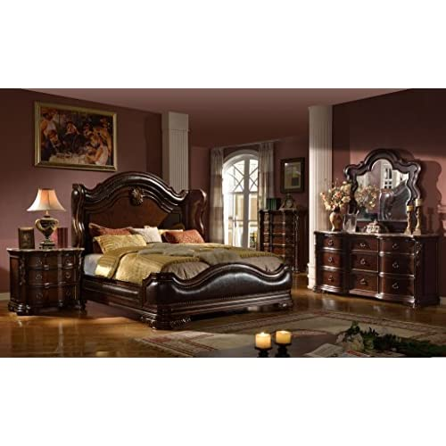 Inland Empire Furnitures Bryce Eastern King Adult 5 Piece Bed Set