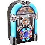 Jukebox lumineux Memphis Radio CD mp3 USB SD Aux La chaise longue 33-2D-008...