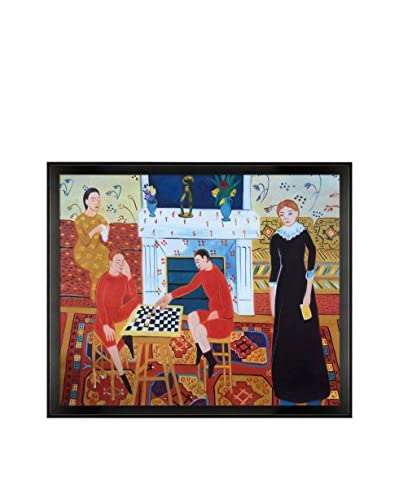 Henri Matisse The Artist Family Framed Hand-Painted Reproduction
