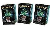 3x 50Milliliter Wachstum Technologie Clonex Professionelle Klonen