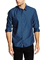 Pepe Jeans London Camisa Hombre Willy (Azul Oscuro)