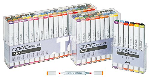 Best Art Markers For Artists Copic Prismacolor Chartpak