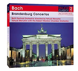 Bach: Brandenburg Concertos [Double CD]