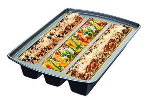 Chicago Metallic 26783 Lasagna Trio Pan, 12 by 15 by 3