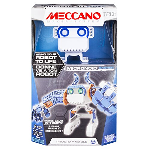 2016 Hot Toy List: Rated Kid-Tested and Parent-Approved (Parents Magazine / Amazon) Meccano - MicroNoid - Blue Basher