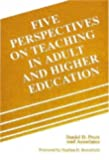 Five Perspectives on Teaching in Adult and Higher Education