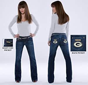 Touch by Alyssa Milano Green Bay Packers Women's Signature Jeans 29