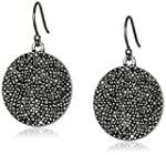 Lucky Brand Pave Disk Earrings