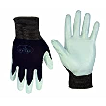 Atlas 370M Nitrile Tough Assembly Grip 370 Work Gloves, Medium