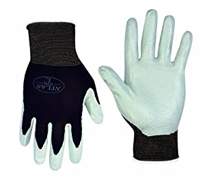 Atlas 370S Nitrile Tough Assembly Grip 370 Work Gloves, Small