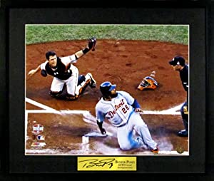 SF Giants Buster Posey 2012 World Series Tag 16x20 Photograph (SGA Signature Series)... by Sports+Gallery+Authenticated