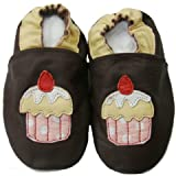 Soft Leather Baby Shoes 0 6 Months Cup Cake Design