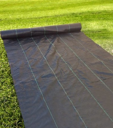 Agfabric Pp Woven Weed Barrier Weed Block 3ft X