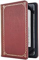 """Verso Custodia """"Prologue Antique"""" per Kindle, colore: Rosso [compatibile con Kindle Paperwhite, Kindle (5ª generazione), Kindle Touch (4ª generazione) e Kindle (7ª generazione)]"""