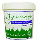Grasshopper Organic Fruity Porridge with Cinnamon and Raisin 60 g (Pack of 6)