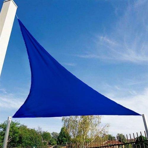 Véranova 5MER094BL - Vela de sombra para patio, azul