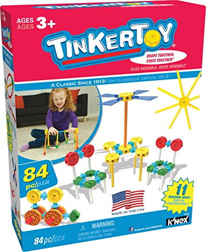 TINKERTOY Little Constructor's Building Set