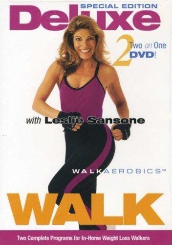Leslie Sansone Deluxe Walk Aerobics DVD 2 And 4 Mile - Region 0 Worldwide