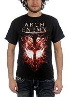 Arch Enemy - - Twin Skulls Termine Adult T-Shirt in Schwarz