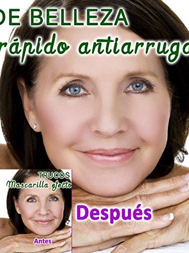 Mascarilla efecto rápido antiarrugas, tratamiento natural rejuvenecedor