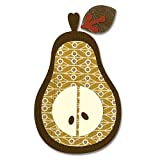 Sizzix Bigz BIGkick/Big Shot Die By Basic Grey-Figgy Pudding Pear