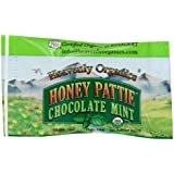Heavenly Organics, Honey Patties, Chocolate Mint, 40 Bars (Pack of 40)