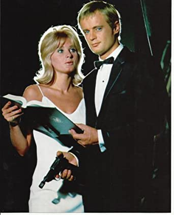 Man From UNCLE David McCallum in tux with Jill Ireland 8x10 Photo at