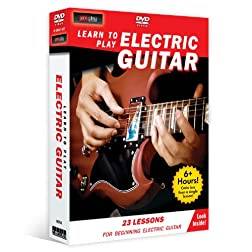 Learn to Play Electric Guitar (4-DVD) for beginners